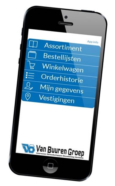 Van Buuren Groep App IoS