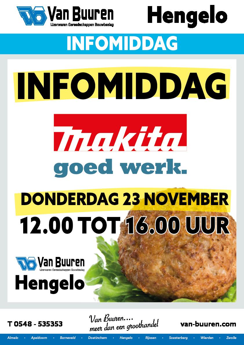 Demomiddag Makita bij Van Buuren Hengelo @ Van Buuren Hengelo | Hengelo | Overijssel | Nederland