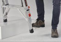 Verstelbare voeten vouwladder leveler-1