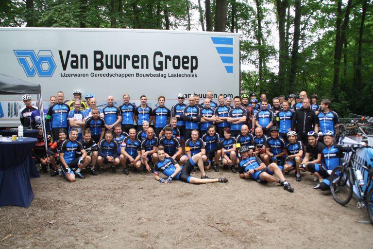Zeer geslaagd Van Buuren Bike-Event 2016